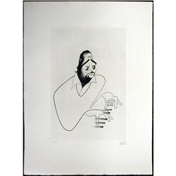 Duke Ellington; Signed Etching; Edition 104/150; RARE/ out of print