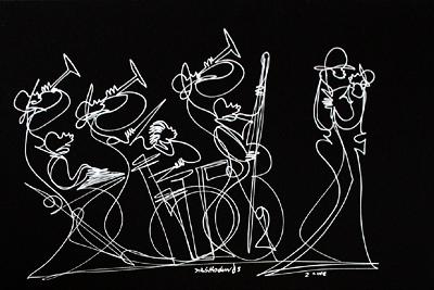 Single Line Drawing Artists : Artist sir shadow untitled xxiv single line drawing in silver
