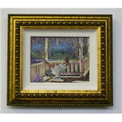 Artist: Consuelo GAMBO; Afternoon Dreams; Hand enhanced canvas; Framed