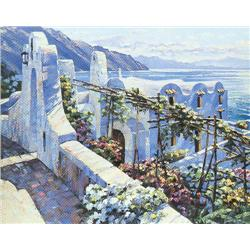 Artist: Howard Behrens; Rhodes; Limited edition serigraph on paper