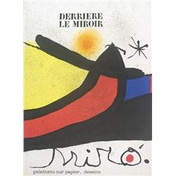 1971 miro derriere le miroir book for Miro derriere le miroir