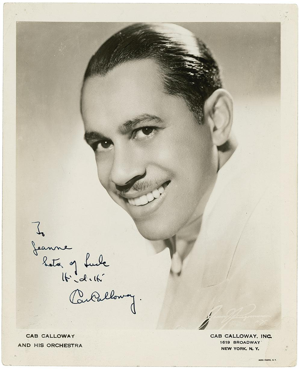 an introduction to the life of cab calloway The great gatsby auction gala 89  finn has made spreading this practice the main focus of his life by finding ways to introduce the practice  cab calloway, and.