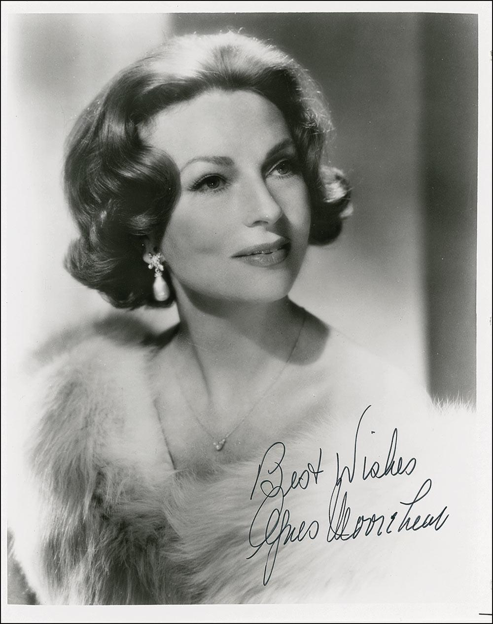 photo Agnes Moorehead