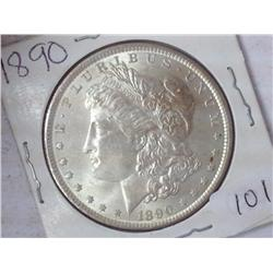 1890 Morgan Silver Dollar (UNC)