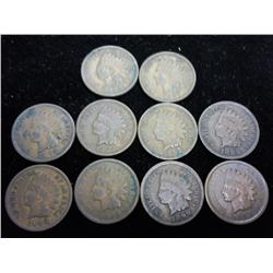 10-1890's Indian Head Cents