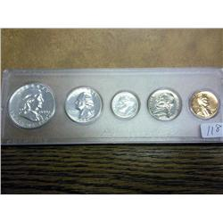 1959 US Silver Proof Set