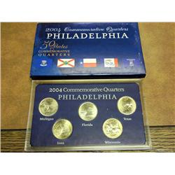 2004-P Commemorative Quarter Set