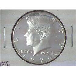 1970-S 40% Silver JFK Half (Proof)