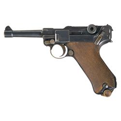 DWM Luger Model 1923 Commercial Safe and Loaded Semi-Automatic Pistol