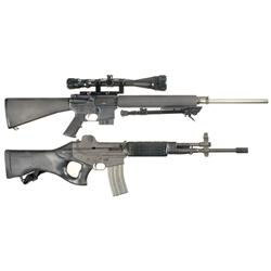 Two 223 Caliber Semi-Automatic Rifles -A) Colt CAR-A3 HBAR Elite Semi-Automatic Rifle with Scope and