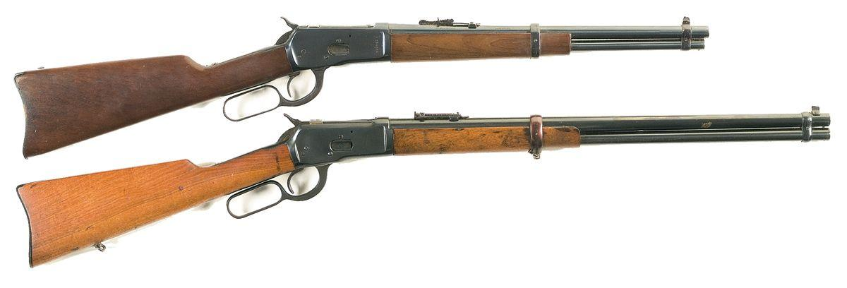 Image 1 : Two Lever Action Long Guns -A) Rossi Amadeo Model 92 SRS