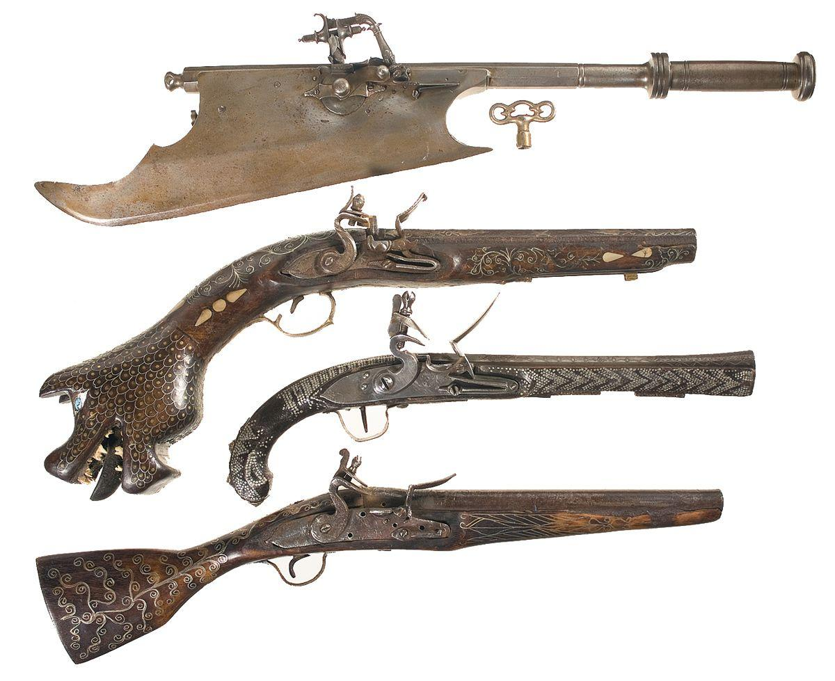 a history of the flintlock pistol in western firearms Flintlock pistols background developed in the early 1600's, the flintlock pistol was a revolutionary invention for piracy and naval warfare these pistols were some of the first handheld firearms and would change boarding and hand to hand combat forever.