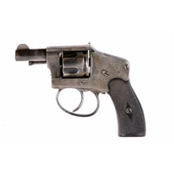 D D Oury Pocket Cal 6.35mm SN:NVSN Interesting double action pocket revolver from an earlier period.