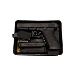 Glock Mdl 20 Cal 10mm SN:UL918 Fine to excellent used condition in box with two clips.Fine to excell