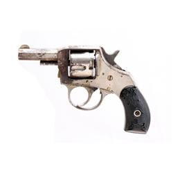 H&R Young American DA Cal .32 SN:3879 1880s Double Action pocket revolver in .32 caliber. Nickel fin