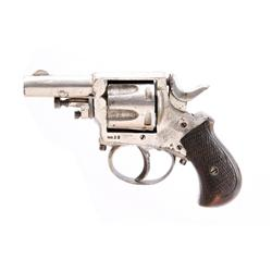 Belgium Pocket Cal .32 SN:NVSN Belgium proofed 6 shot double action solid frame pocket revolver. Nic