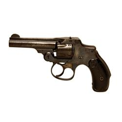 "Smith & Wesson New Departure Cal .32 SN:215780, Double action, 5 shot, third model ""Lemon Squeezer"""