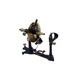Universal Co. Ophthamometer in original condition with black polychrome finish. This antique devise