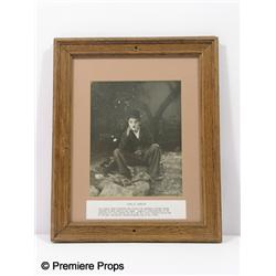 Charlie Chaplin Framed Photo