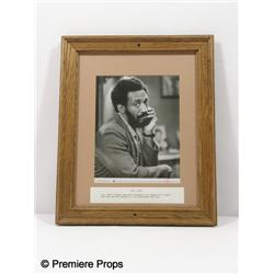 Bill Cosby Framed Photo