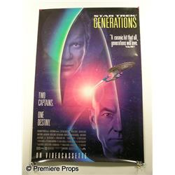 """Star Trek: Generations"" Movie Poster"
