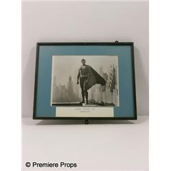 Superman Framed Photo