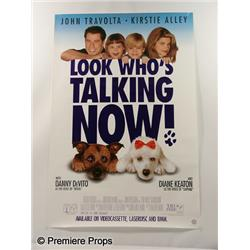 """Look Who's Talking"" Movie Poster"