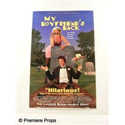 """My Boyfriend's Back"" Movie Poster"