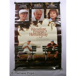 """Wrestling Ernest Hemmingway"" Movie Poster"