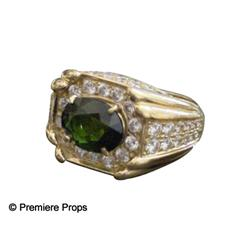 Elvis Presley Custom 4 1/2 carats Diamond/Tourmaline Ring