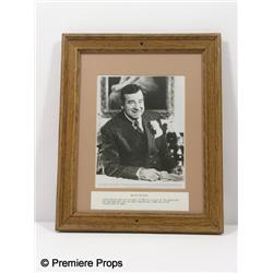 Walther Matthau Framed Photo