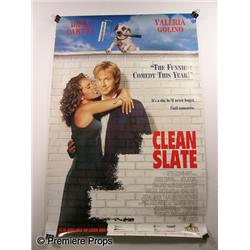 """Clean Slate"" Movie Poster"
