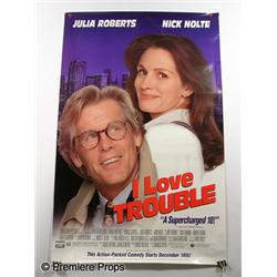 """I Love Trouble"" Movie Poster"