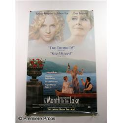 """A Month By The Lake"" Movie Poster"