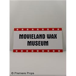 Movieland Wax Museum Sign