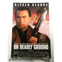"""On Deadly Ground"" Movie Poster"