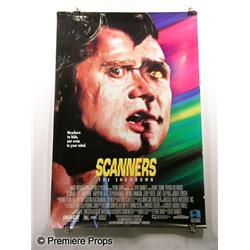 """Scanners"" Movie Poster"