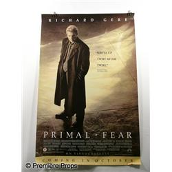 """Primal Fear"", starring Edward Norton, Richard Gere, Movie Poster"