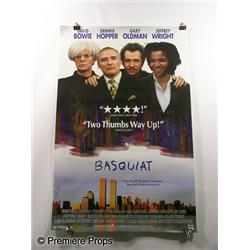 """Basquiat"" Movie Poster"