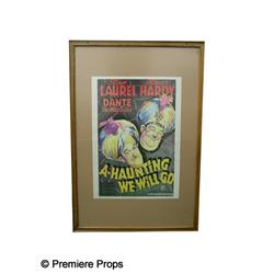 """""""A Haunting We Will Go"""" Framed Poster"""