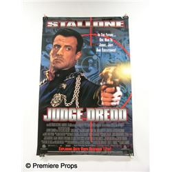 """Judge Dredd"" Movie Poster"