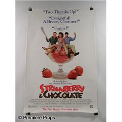 """Strawberry & Chocolate""  Poster"