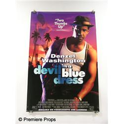 """Devil in a Blue Dress"" Movie Poster"