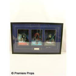 Star Wars Signed LE Box Art Framed