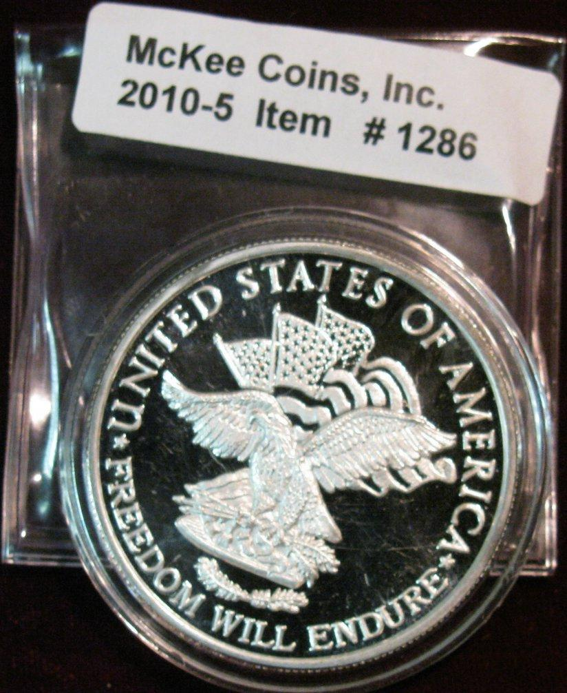 Image 1 : 1286. Operation Iraqi Freedom March 19, 2003 Silver Proof Medal.