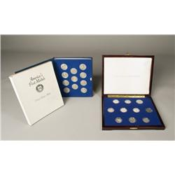 America's Silver Half Dollars & Pewter Medals