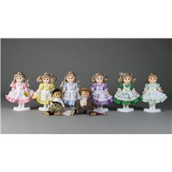 Collection of 8 Boxed Dolls