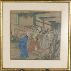 Very Fine Chinese Painting On Silk