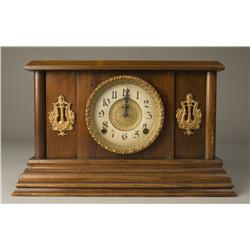 Antique Ingraham Mantle Clock with Key