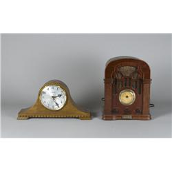 Thomas Radio and Mantle Clock